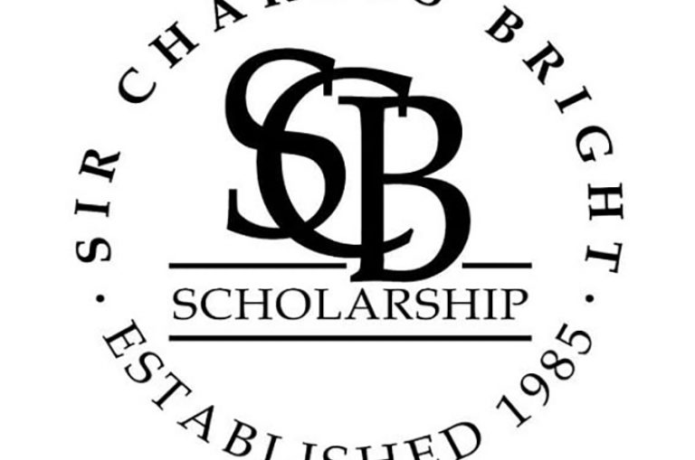 Apply for the 2019 Sir Charles Bright Scholarship