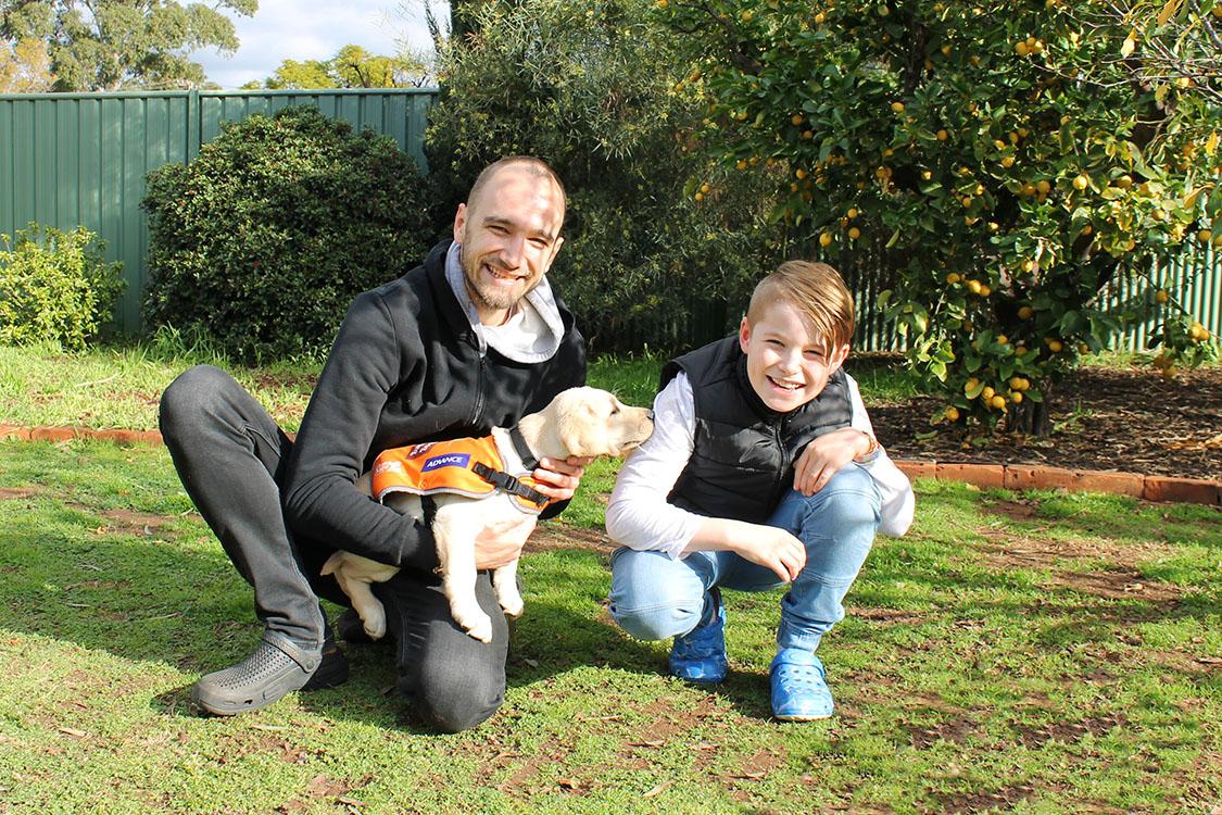A Dream Come True for Young Carer, Harvey